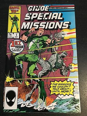 Gi-joe Special Missions#1 Incredible Condition 9.4(1986) Zeck/Byrne Cover!