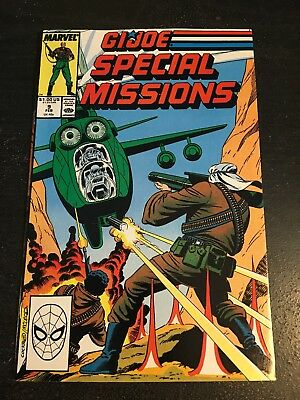 Gi-joe Special Missions#9 Incredible Condition 9.4(1988) Cool!!