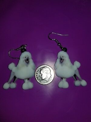 Standard Minature Toy Poodle Dog  lightweight earrings jewelry FREE SHIPPING!