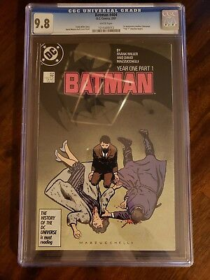 Batman 404 - Year 1 Part 1 - 1st Modern Catwoman - CGC 9.8 (NM/M) - White Pages
