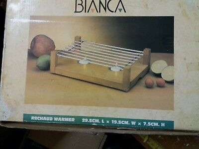 Bianca Wooden Food Warmer.