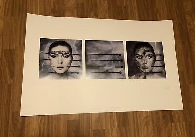 "Debbie Harry ""Koo Koo"" Licensed Limited Edition Lithograph"