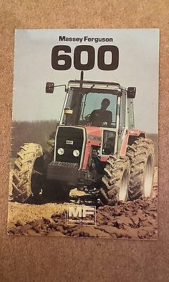 Massey Ferguson 600 Series 675,90,98T,99Sales Brochure