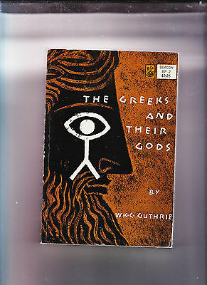 The Greeks & Their Gods-Guthrie-1966-Quality Sc-Classic Scholarship Vg+