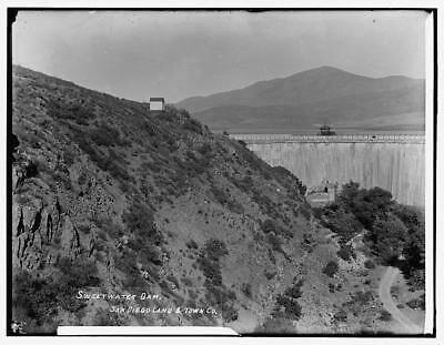 Sweetwater Dam,San Diego Land & Town Company,mountains,water,California,CA,1900