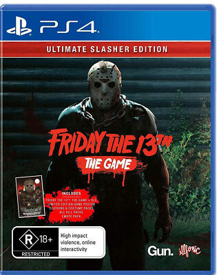 Friday The 13th Ultimate Slasher Special Edition Game For Sony Playstation 4 PS4