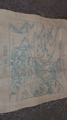 Vintage Pearsalls Series 112 Embroidery Linen Craft
