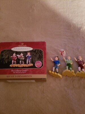 Wizard of oz Keepsake Ornament Lollipop Guild