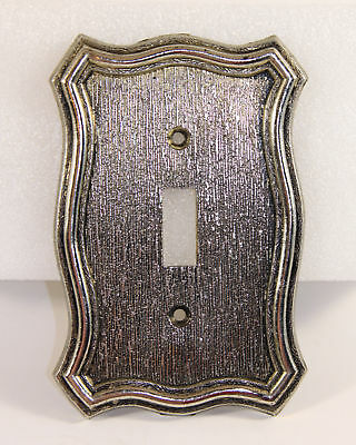 Vintage Single Toggle Light Switch Plate Cover American Tack & Hdwe. 1968