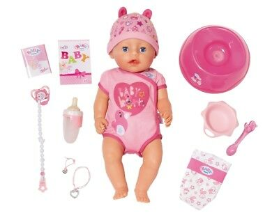 Baby Born Doll Soft Touch Girl Cry Pipi Drink Eat from Zapf Nip