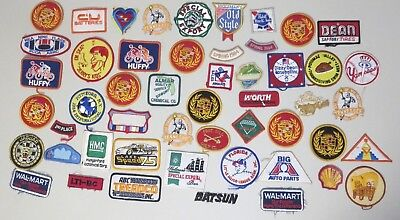 Lot of 50 Vintage Patches - Mixed Lot - Advertising - Unused - Lot 5