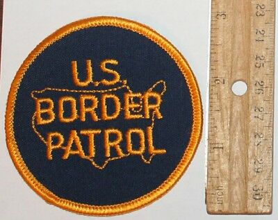 US BORDER PATROL USBP Federal Law Enforcemrnt Police Twill patch