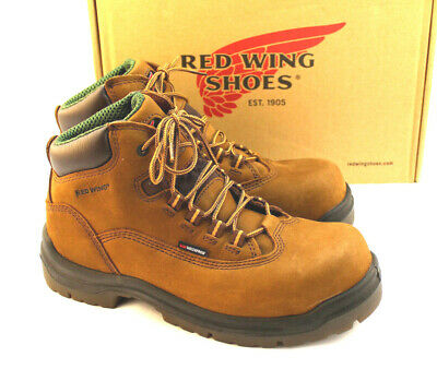 ca985a69ed43 RED WING 2340 Women s Boots Brown Size 7 E2 Extra Wide Steel Toe ...