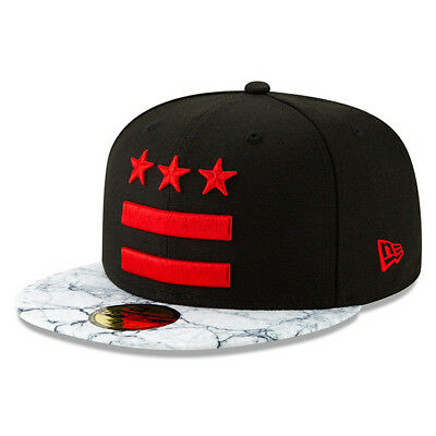 f8a135ef Washington Wizards New Era 2018 City Series Alternate 59FIFTY Fitted Hat -  Black