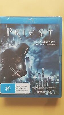 Priest [ BluRay ]  Region A+B+C, BRAND NEW & FACTORY SEALED, Free Fast Post