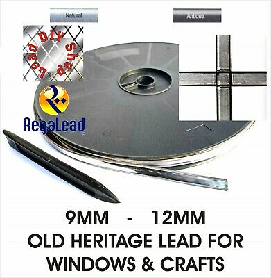 Old Heritage self adhesive lead strip tape for windows glass crafts REGALEAD