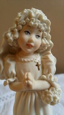 Vintage Florence Giuseppe Armani First Communion Girl Figurine 1196F