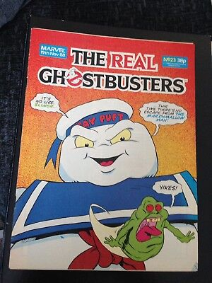 Marvel The Real Ghostbusters Comic #23