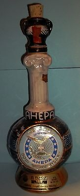 Jim Beam Order of AHEPA 50th Anniversary  1972 Decanter/Bottle Empty Exc.Cond