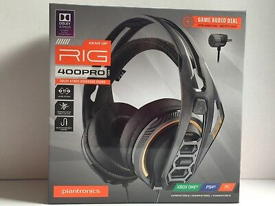PLANTRONICS RIG 600 Gaming Headset with Microphone - EUR 80