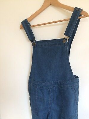 La Redoute Denim Dungarees Girls 13/14 Years Women's 6/8 Blue Jeans Trousers