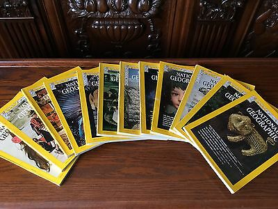 NATIONAL GEOGRAPHIC  1974 year 12 issues - complete