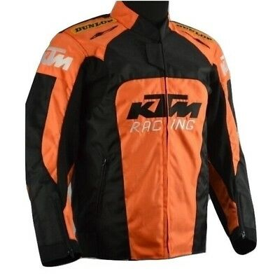 New Orange KTM Motorcycle Riders Bike Riding Protective Hump Armor Jacket Gear