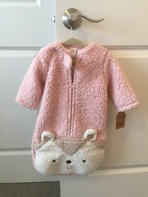 New CHICKPEA Infant Pink Sleep Sack 3-6 Months