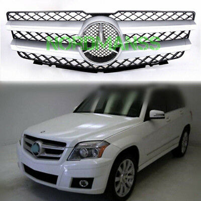 For Mercedes Benz GLK X204 GLK350 2010 - 2012 Front Grille Grill With Emblem