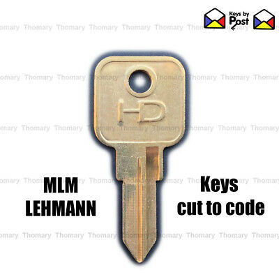 MLM Lehmann Filing Cabinet Keys Cut to Code 4001 to 4100