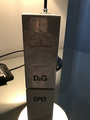 Dolce And Gabbana D&G 3 L'imperatrice 100ml EDT Perfume Spray