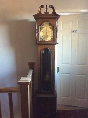 Long Case Grandfather Clock With Westminster Chimes. Not Currently Working