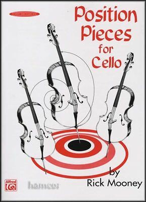 Position Pieces for Cello Book 1 by Rick Mooney