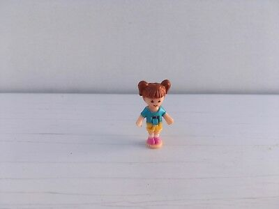 Vintage Polly Pocket Spare Replacement Figure For Spin Pretty Carousel - Rebecca