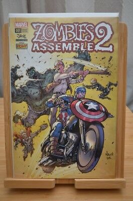 Marvel Zombies Assemble 2 #1 VERY low production Stan lee variant - B.I.N or B.O