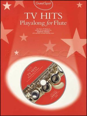 TV Hits Playalong for Flute Sheet Music Book with CD Band of Brothers Poirot