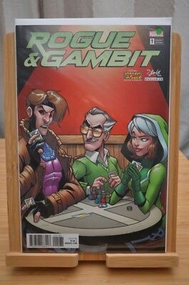 Marvel Rogue & Gambit #1 VERY low production Stan lee variant - B.I.N or B.O