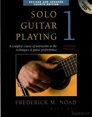 Solo Guitar Playing 1 Classical Guitar Method Book/CD 4th Edition Frederick Noad