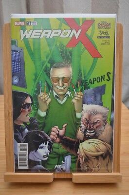 Marvel Weapon X #12 VERY low production Stan lee variant - B.I.N or B.O