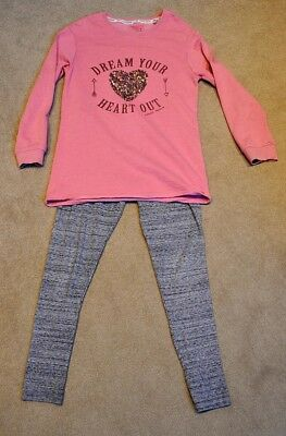 Girls Next jumper and leggings set, size 12