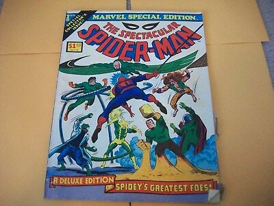 Marvel Special Edition Collectors Issue The Spectacular Spider Man # 1 1975