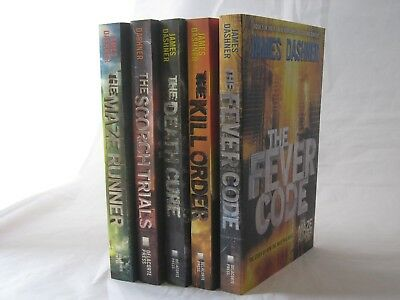 The Maze Runner #1-5: Book Series by James Dashner (Paperback)
