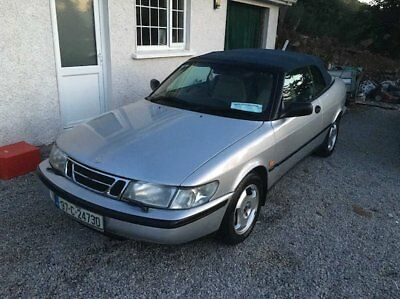 Saab 900s Cabrio . Full Leather, Electric Hood, Exceptionally Clean and Straight
