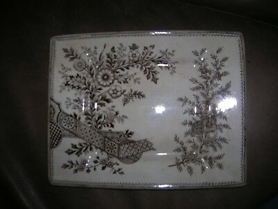 Christopher Dresser Old Hall oblong tray/plate
