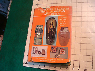 vintage book: THE KOVELS' COLLECTOR'S GUIDE TO AMERICAN ART POTTERY 1974