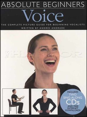 Absolute Beginners Voice Vocal Sheet Music Book and CDs Learn How To Sing Method
