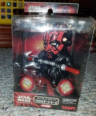 Star Wars Palm Talker Foreign Release Darth Maul Factory sealed Nr Mint TOMY