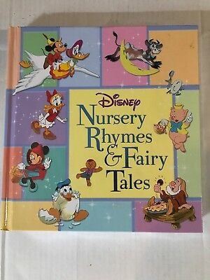 Disney S Nursery Rhymes And Fairy Tales Book Hardcover