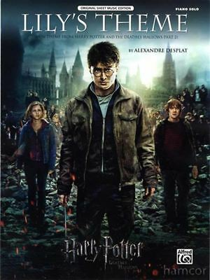 Lily's Theme from Harry Potter Piano Solo Sheet Music Deathly Hallows Part 2
