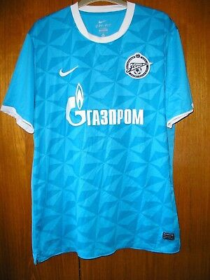 Zenit Saint Petersburg Football Shirt Nike Home Shirt 2011/12 size XL 45/47